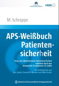 Cover Weißbuch Patientensicherheit